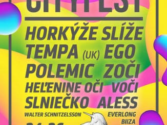 CityFest: Na festivale vystúpi špička SK scény aj interpret z Anglicka, poznáme presný program!