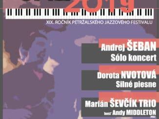 PETJAZZ 2019: XIX. ročník petržalského jazzového festivalu.