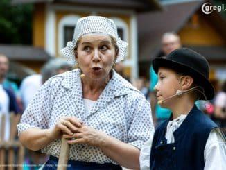 Medzinárodný folklórny festival MYJAVA 2019 - Ako sa strýco Hruška zAmeriky vráteli... | 19. - 23.6.2019 | amfiteáter Trnovce | Myjava | Foto: Martin Magál - Maggi