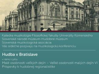 Hudba v Bratislave:Malé osobnosti veľkých dejín – veľké osobnosti malých dejín VI / Príspevky khudobnej regionalistike.