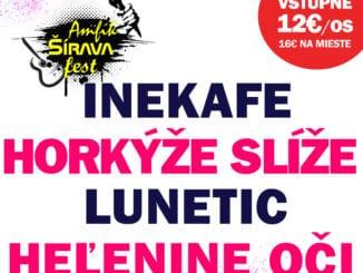Amfik Šírava fest odhalil svoj program. Príde aj legendárny Lunetic.