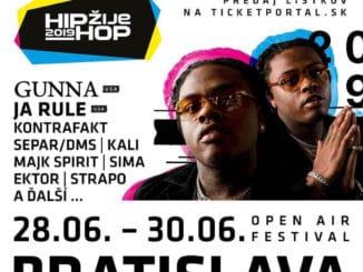 """Druhým zahraničným headlinerom """"Hip Hop Žije"""" bude americký raper a spevák Gunna!"""