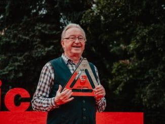 Jiří Lábus pri preberaní ceny Hercova misia priznal, že ho herecká profesia robí šťastným.