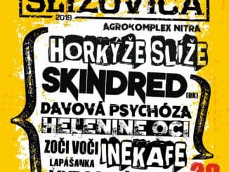 Festival Slížovica sa sťahuje na Agrokomplex, headlinerom budú Horkýže Slíže, prídu aj Skindred!