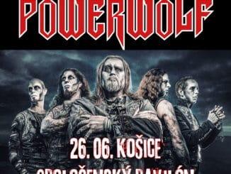 Vlkodlaci zPowerwolf zahrajú v Košiciach.