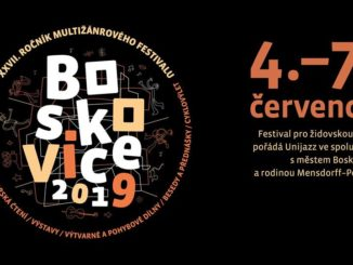 Festival pro židovskou čtvrť Boskovice přivítá slovenské hudebníky, divadelníky i filmaře.
