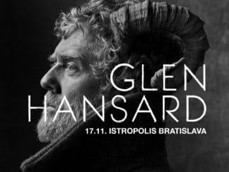 Glen Hansard vystúpi vBratislave vdeň výročia nežnej revolúcie.