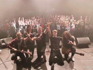 Kapelu INSIDE prekvapili počas krstu albumu Iron Maiden.
