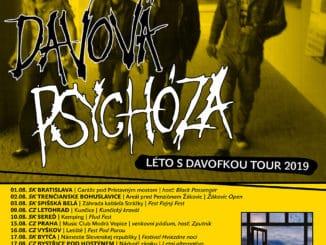 """Davová Psychóza vyráža po roku na turné """"Léto sDavofkou Tour 2019"""" apo pätnástich rokoch vydá na jeseň nový album """"Emancipácia""""!"""