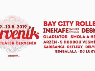 Hviezdou 54-ho ročníka festivalu Červeník bude škótska popová legenda Bay City Rollers!