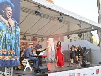Na Slovensku koncertovala s Ankou Repkovou hviezda z Broadwaya Moya Angela.