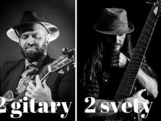 Kanadsko - slovenský gitarový projekt čoskoro na Slovensku2 GITARY / 2 SVETY.