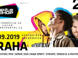 Hip Hop Žije opět míří do Prahy. Snovým albem vystoupí i kapela PSH!