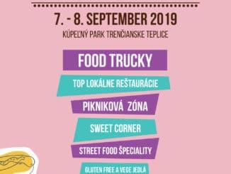 FOOD FEST v parku Trenčianske Teplice