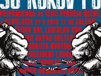 V Zálesí si pripomenú výročie nežnej revolúcie, vystúpia herci z SND i Dorota Nvotová.