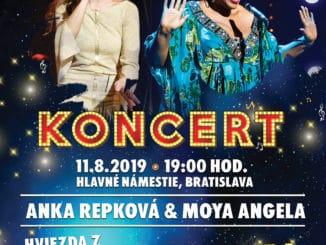 Koncert Anky Repkovej s hviezdou Broadwaya Moyou Angelou.