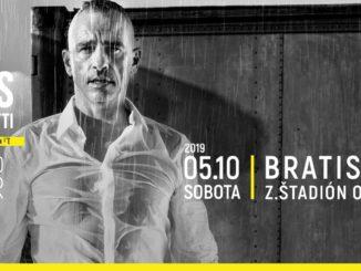 Takto bude vyzerať bratislavský koncert Erosa Ramazzottiho.