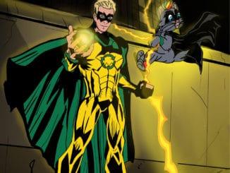 Thomas Puskailer je komiksový superhrdina, zachraňuje životné prostredie!