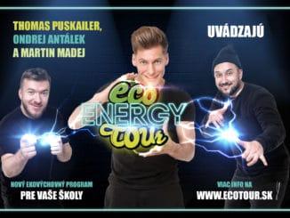 Spevák a ochranca prírodyThomas Puskailer štartuje ECO ENERGY TOUR, študentov naučí šetriť energiou!