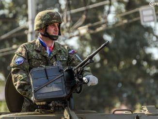 Vojenská prehliadka - 75. výročie Slovenského národného povstania | 28. 8. 2019 | Banská Bystrica | Foto: Norbert Kuklovský