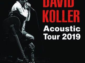 David Koller pridal 6 akustických koncertov na rok 2019!