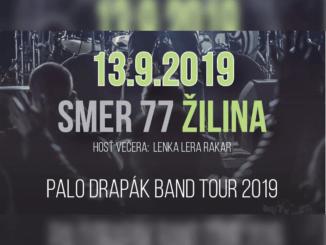 Palo Drapák Band Tour 2019 Žilina