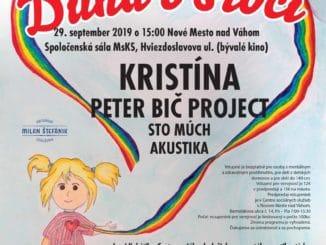 Veselý koncert Dúha vsrdci poteší deti.
