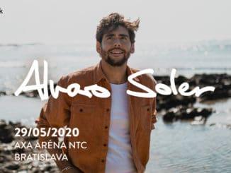 Alvaro Soler poteší Slovákov veľkým koncertom.