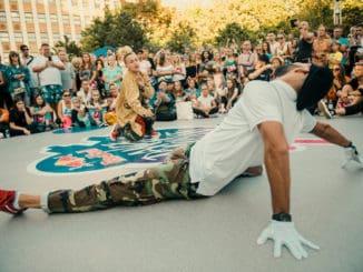 Taneční battle Red Bull Dance Your Style poprvé v Praze.