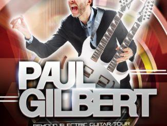 Paul Gilbert predstaví vKošiciach svoj najnovší album Behold Electric Guitar azahrá aj hity kapely Mr. Big.
