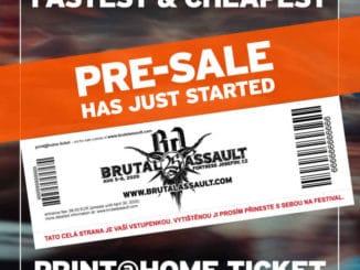 Brutal Assault 2020 - předprodej / aftermovie.