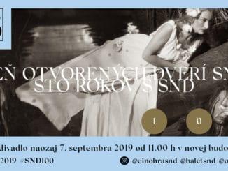 Deň otvorených dverí SND: 100 rokov kultúry, 100 rokov s SND