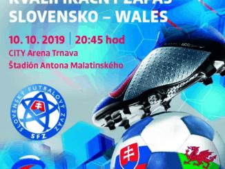 Kvalifikácia ME 2020 Slovensko - Wales