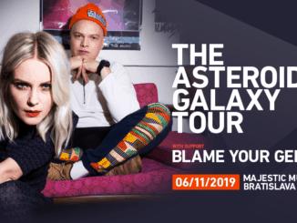 The Asteroids Galaxy Tour už 6. novembra v Bratislave, predskokanom Blame Your Genes.