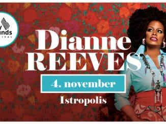 Slovenská jazzová jeseň 2019 sa začne naozaj veľkolepo:Koncertom prvej dámy svetového jazzu, držiteľky 5 cien GRAMMYDianne Reeves už opár dní v Bratislave!