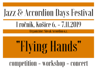 "Jazz & Accordion days 2019 – ""Flying Hands"""