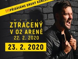 Marek Ztracený pridáva druhý koncert vO2 Aréne!