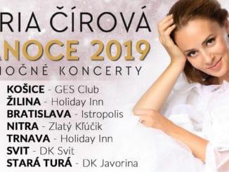 Mária Čírová vydáva svoj druhý vianočný album Moje Vianoce.Zároveň vyráža na vianočné turné snovým koncertným programom.