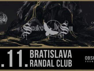 Swallow the Sun aj Bratislave.