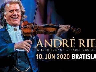 Kráľ valčíkaAndré Rieu mieri na Slovensko! Po bokuJohann Strauss Orchestra ponúkne publiku žánrovú všehochuť.
