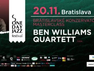 One Day Jazz Festival sa vracia do Bratislavy.