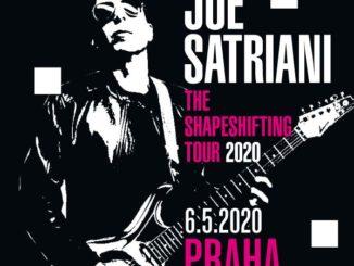Joe Satriani vystoupí v květnu v Praze s novým albem.