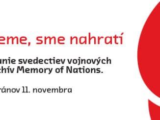 Post Bellum organizuje verejnú zbierku pri príležitosti Dňa vojnových veteránov v25 mestách Slovenska.