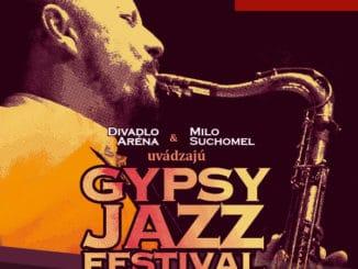 Mikulášska nádielka hudby na Gypsy Jazz Festivale.