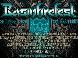Basinfirefest oznamuje Airbourne jako jednoho zheadlinerů! Pak Gutalax a další tuzemské špičky.