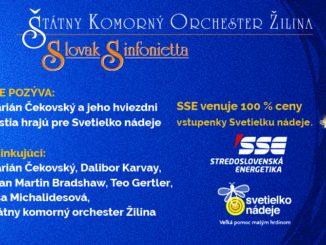 Marián Čekovský a jeho hviezdni hostia si zahrajú vžilinskom ŠKO. Výťažok zkoncertu poputuje detským onkologickým pacientom.