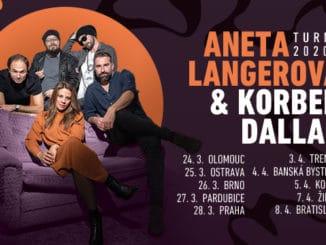 Aneta Langerová aKorben Dallas vyrazia na československé turné.