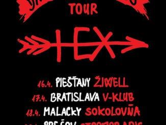 Skupina HEX sa vracia ku koreňom, vapríli vyrazí na klubové turné!