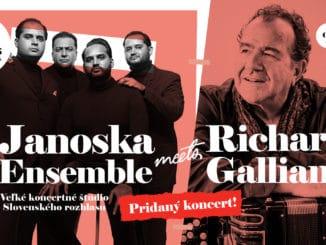 City SoundFestivalpre veľký úspech pridal ďalší koncert Janoska Ensemble a legendárneho akordeonistu Richarda Galliana.