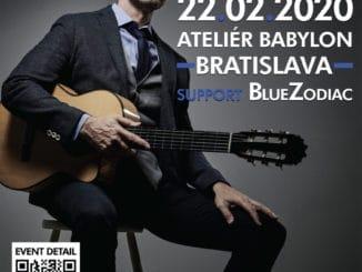 VBratislave po prvý raz vystúpi slávny kanadský hudobník Jesse Cook spájajúci prvky jazzu a flamenca.